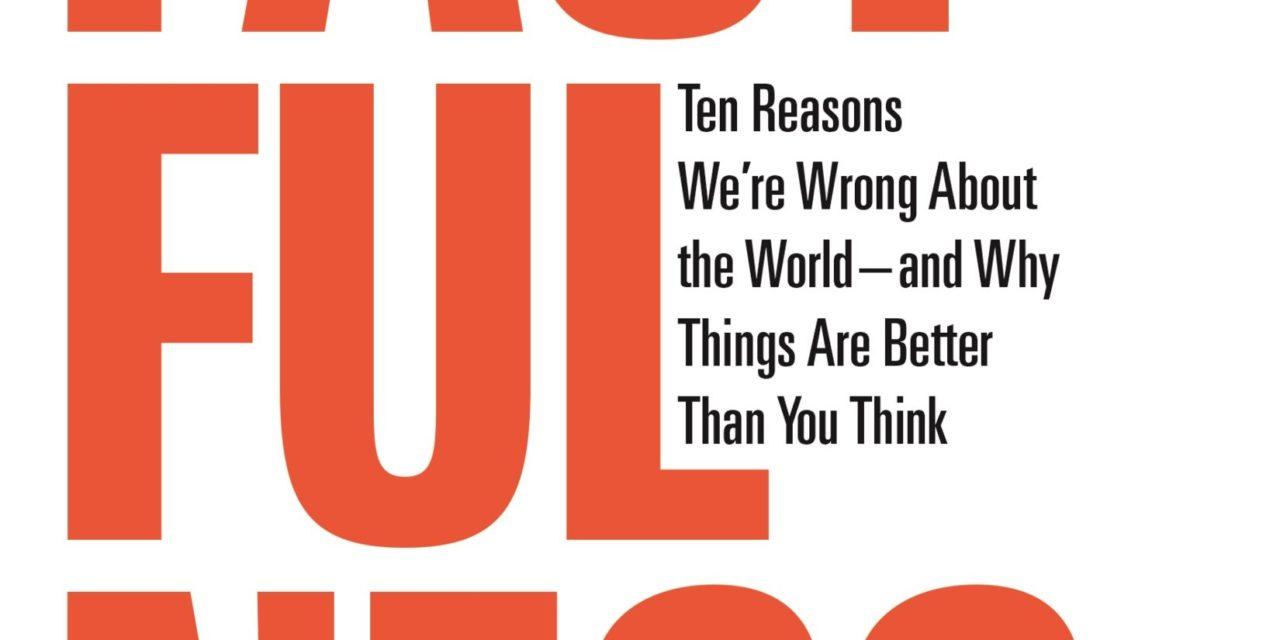 """Dans """"Factfulness"""", les dix raisons pour lesquelles ça va mieux qu'on ne pense."""