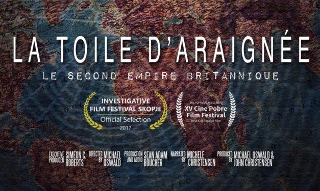 Succès de notre soirée débat autour du film La Toile d'Araignée – Le Second Empire Britannique :